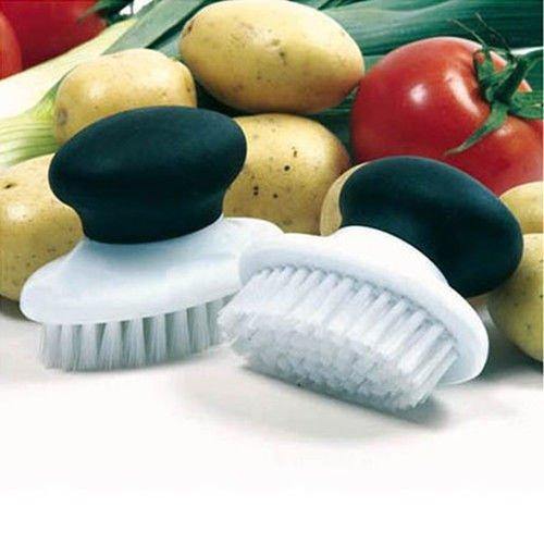 Vegetable Brush Potato Scrubber Nylon Bristles NEW