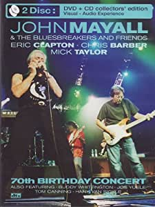 John Mayall & the Bluesbreakers and Friends - 70th Birthday Concert (DVD + CD)