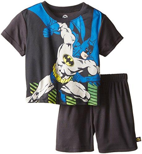 Intimo Little Boys' DC Comics Batman Knockout Mesh Pajamas at Gotham City Store
