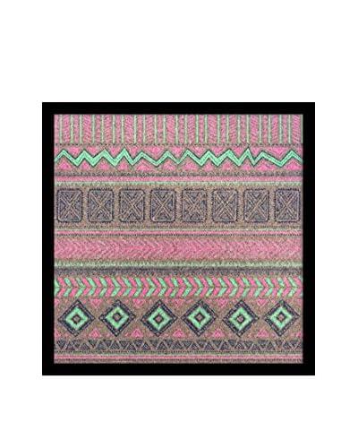 Tribal Pattern I Framed Corkboard