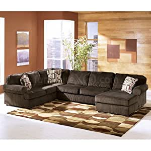 Ashley vista 68404 17 34 66 3 piece sectional for Amazon sectional sofa with chaise
