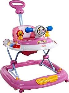 Baby Walker - Andador con actividades - Primeros Passos ARTI Ufo 6310AT Pink