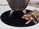 Fire-Resistant-Chiminea-Outdoor-Fireplace-Pad-Round