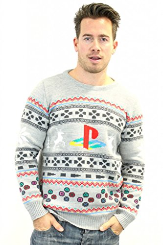 playstation-official-console-christmas-jumper-sweater-3x-large