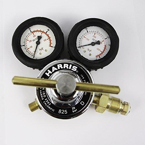 Druckminderer Druckluft Pressluft Manometer für Druckluftflasche Pressluftflasche 0-20 bar