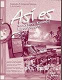 ASI ES Instructors Resource Manual (0030259320) by Nancy Levy-Konesky