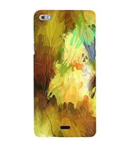 Multicolour Abstract Pattern 3D Hard Polycarbonate Designer Back Case Cover for Micromax Canvas Sliver 5 Q450