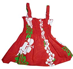 RJC Baby Girls Classic Christmas Red Panel Elastic Tube Top 2pc Set Red 6 months