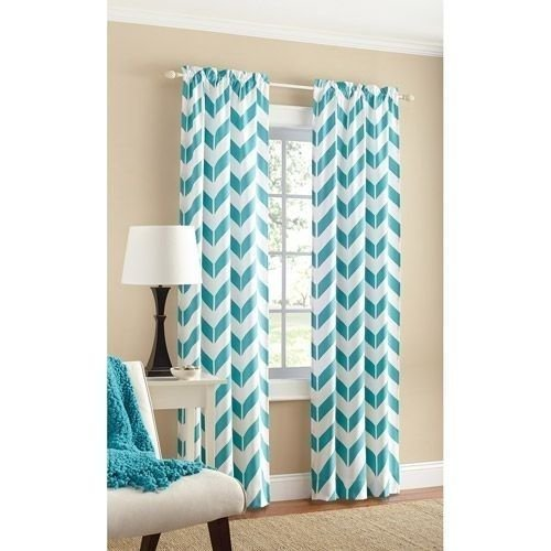 teal-chevron-panel-pair-two-panels-84-by-mainstays