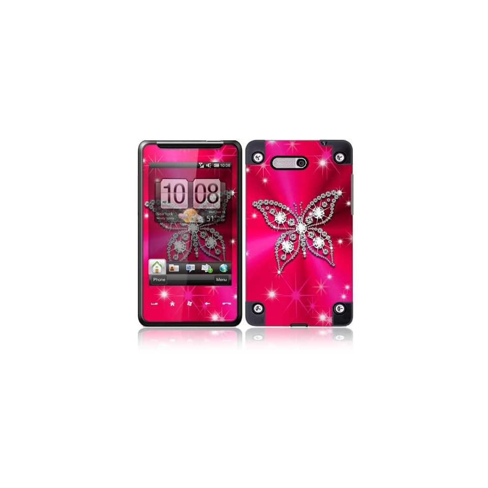 Bling Wings Protective Skin Cover Decal Sticker for HTC HD Mini Cell Phone