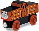 Stafford is an electric engine who runs on batteries instead of coal. He is very helpful and has a great sense of humor. Stafford can connect to other Wooden Railway engines and vehicles with magnet connectors. Perfect for Thomas & Friends Wooden Railway train sets!