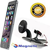 AccessoryBasics BASICS-XT Strong Magnetic Car DVD CD Slot Car Holder Mount For IPhone 6s Plus 6 Galaxy S7 S6 Edge...