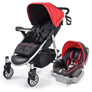 Summer Infant Spectra Travel System with Prodigy Infant Car Seat, Jet Set