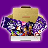 The Cadbury Winter Wonderland Christmas Treat Box- Dairy Milk Winter Wonderland Bar, Chocolate and Vanilla Mousse Snowman, Freddo Popping Candy and Snow Bites- Great Stocking Filler and Gift Idea - By Moreton Gifts