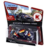 Disney/Pixar CARS 2 Movie 155 Die Cast Car With Synthetic Rubber Tires Max Schne