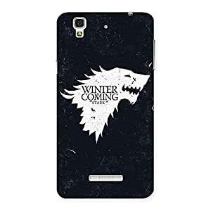 Delighted Comming Of Winter Back Case Cover for YU Yureka Plus