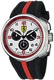 Ferrari Men's F1 FE-10-ACC-CG-WT Fast Lap White Dial Chronograph Swiss Watch