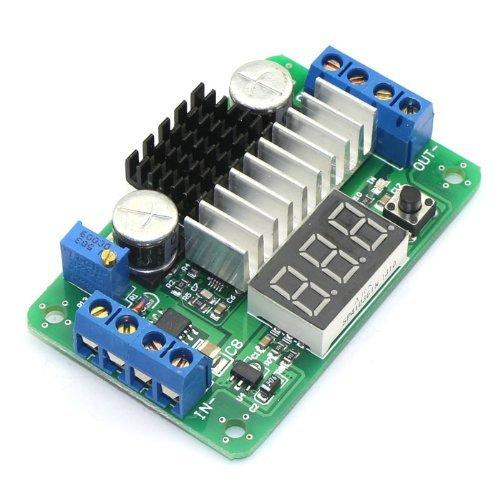 Riorand Ltc1871 Blue Led Volmeter Didplay 3.5V-30V Dc Volt Converter Module Step Up 5V/12V Regulated Voltage Supply