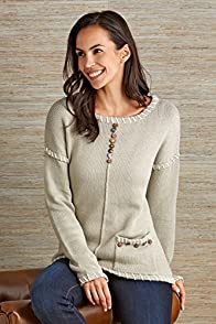 Pure Handknit Preserved Fair Trade Pullover