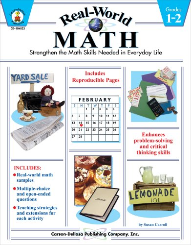 Real-World Math: Strengthen the Math Skills Needed in Everyday Life, Grades 1-2