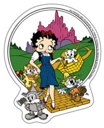 Licenses Products Betty Boop Oz Sticker