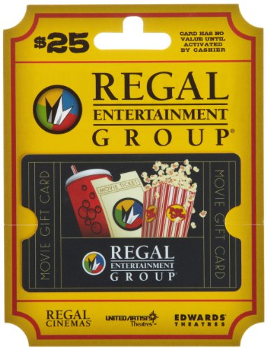 Regal Entertainment Gift Card $25 image