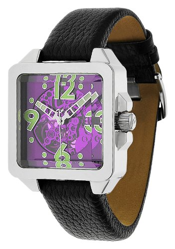 Android Men's AD533APU Galactopus 40 Skeleton Automatic Purple Watch