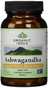 Organic India Ashwagandha Formula Capsules, 180 Count