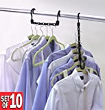 Closet Complete Magic Cascading Hangers, TV Item, Set of 10