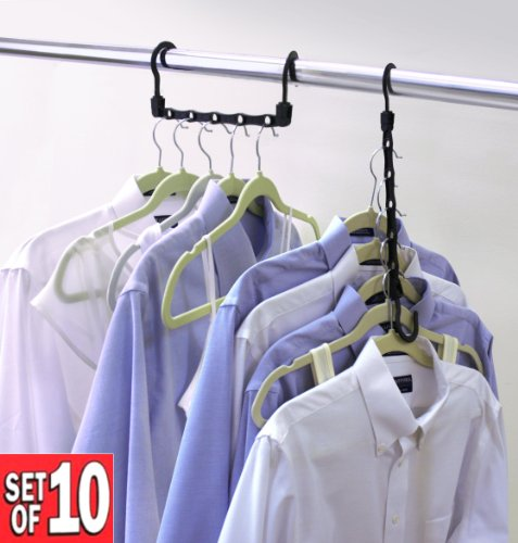 Closet Complete Magic Cascading Hangers, TV Item, Set of 10 Picture