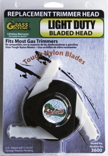 Grass Gator 3600 Weed I Light Duty Bladed Replacement Trimmer Head (Weed Eater Head compare prices)