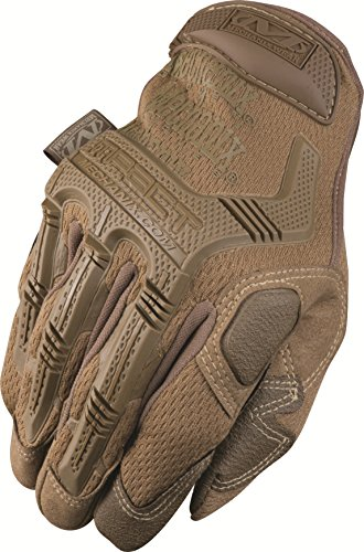Mechanix Wear MPT-72A-010 Gloves, Coyote Tan on Coyote Tan Large