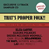 That's Proper Folkby Various Artists