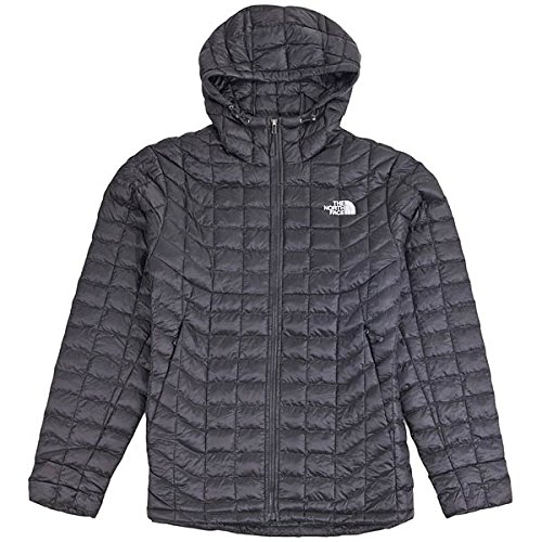 North Face M Thermoball Giacca con Cappuccio, Nero/Tnf Black, L