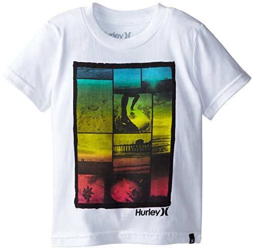 Hurley Baby-Boys Infant Cali Tee, White, 18 Months front-944077
