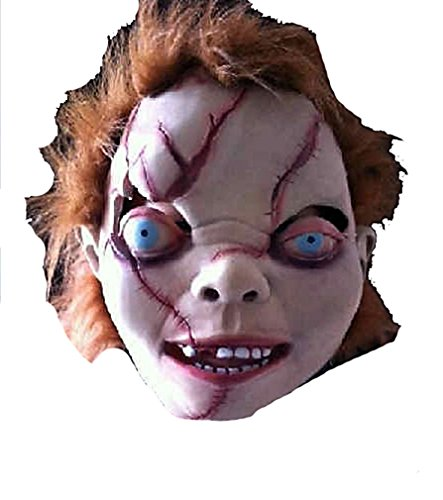 Ghost Baby Doll Halloween Masquerade Party Cosplay Latex Mask 2014 HLWMSK20