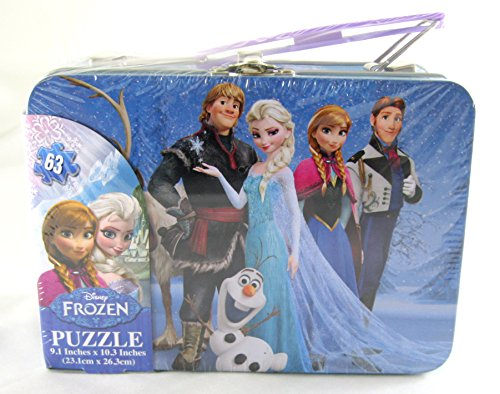 Disney Frozen Puzzle Tin with Handle - 1