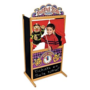 Melissa And Doug Educational Products - Melissa Doug Deluxe Puppet Theater Bundle W Smoulder The Dragon Knight Princess - from Melissa and Doug