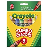 So Big Crayons, Large Size, 5 x 9/16, 8 Assorted Color Set - Sold As 1 Box