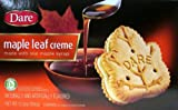 Dare Original Gourmet Maple Leaf Cream (Pack of 2) 12.3 oz Boxes