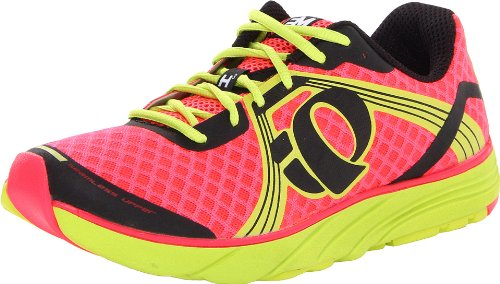 Pearl Izumi Women's EM Road H3 Running Shoe,Electric/Pink/Lime,10.5 B US
