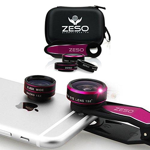 Zeso lens iphone camera lens kit 1 198 fisheye lens 15x for Best lens for furniture photography