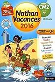 Cahier de vacances 2016 primaire CM2 vers 6e 10/11 ans...