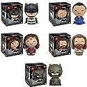 Dorbz: Batman v Superman: Batman, Superman, Wonder Woman, Aquaman and Armored Batman Vinyl Figures! Set of 5