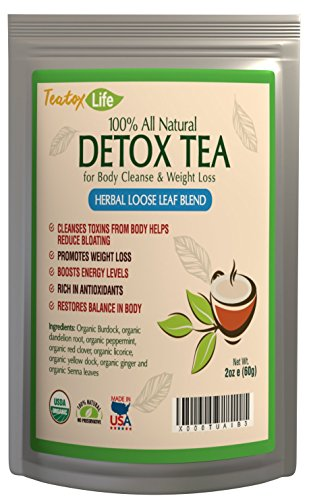 Skinny teatox mint for detox, colon cleanse, constipation, promote 14 or 28 day weight loss | Made in USA| USDA Certified (Master Cleanse Tea compare prices)
