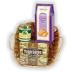 Tea and Scones Gift Basket