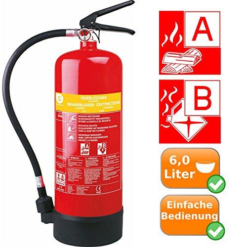 nach-din-en-3-zertifizierter-feuerloscher-brandloscher-schaumloscher-mit-druckanzeige-und-wandhalter