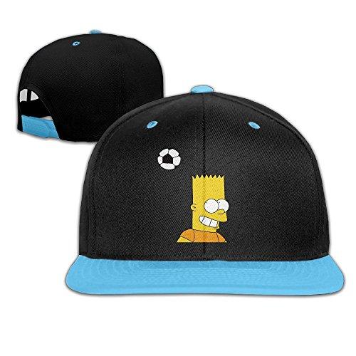 soccer-hit-head-cartoon-kids-adjustable-snapback-hat-baseball-caps