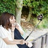 Amazon.co.jp自分撮り 一脚 セルフィースティック FUN-TA-STICK ファンタスティック for iPhone android ワイヤレスシャッター機能付き一脚 ブラック SP1378