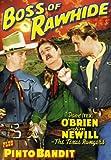 Texas Rangers Double Feature:  Boss Of Rawhide (1943) /Pinto Bandit (1944)